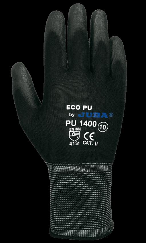 Comercial J30, Guante Nylon ECO-PU