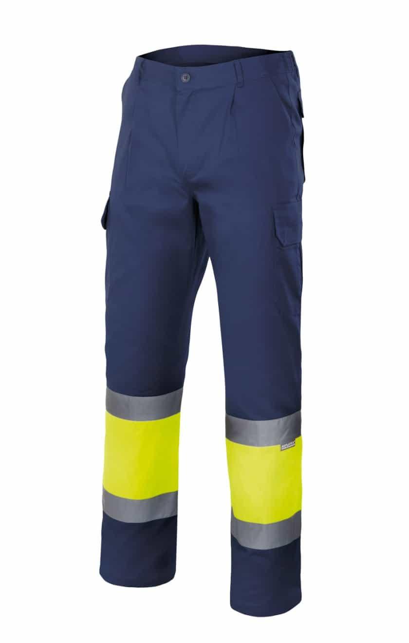 Comercial J30, Pantalón bicolor alta visibilidad