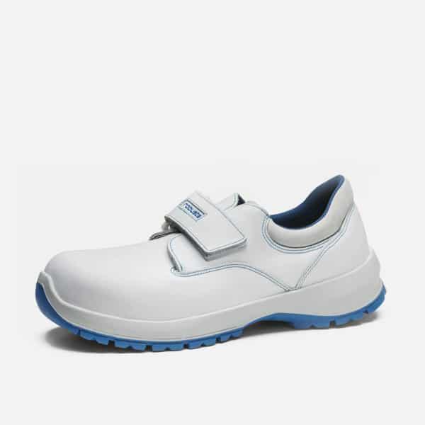 Comercial J30, Zapato castaño velcro